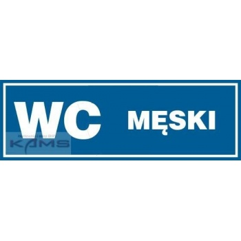 PA011 Piktogram WC Męski.