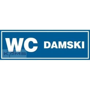 PA012 Piktogram WC Damski.